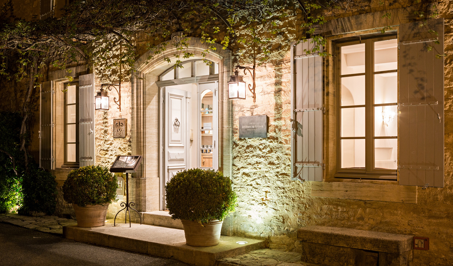 A hilltop sanctuary of elegance and charm; discover Crillon le Brave