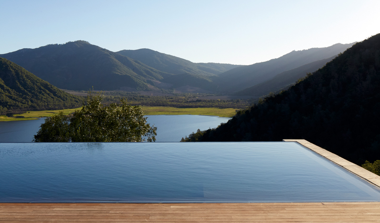 Take a dip in the gorgeous infinity pool and soak in the views