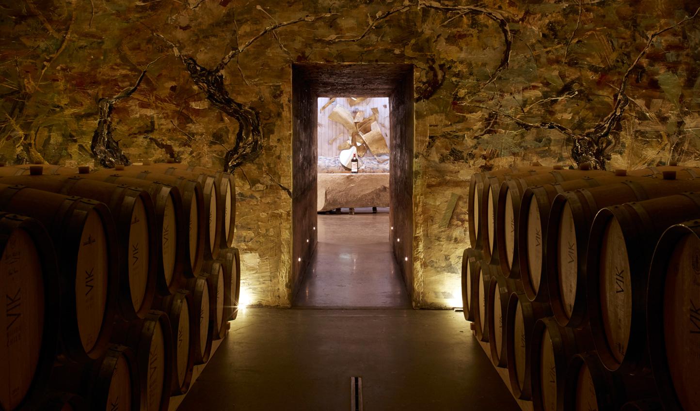 Sample fine wines on the estate's vineyard