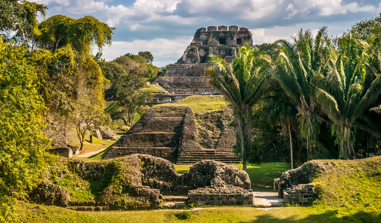 Marvel at the wonder of Xunantunich