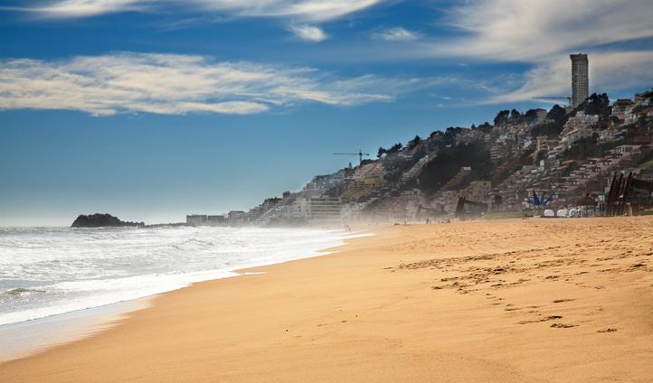 A beach in Chile