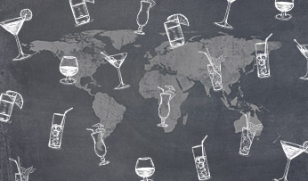 Travel inspired cocktails | Black Tomato