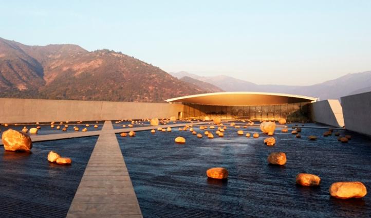 The design of vina vik hotel, Chile