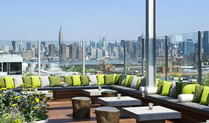 Views from Williamsberg, New York