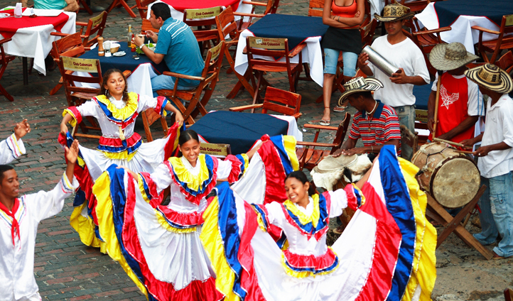 Dancing in Colombia
