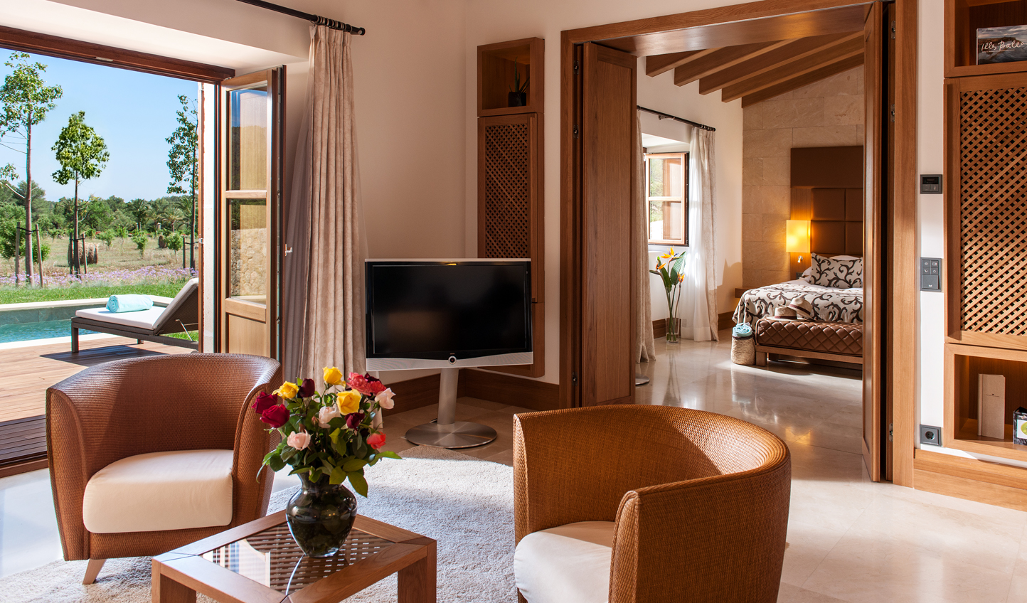 Relax in style at Castell Son Claret
