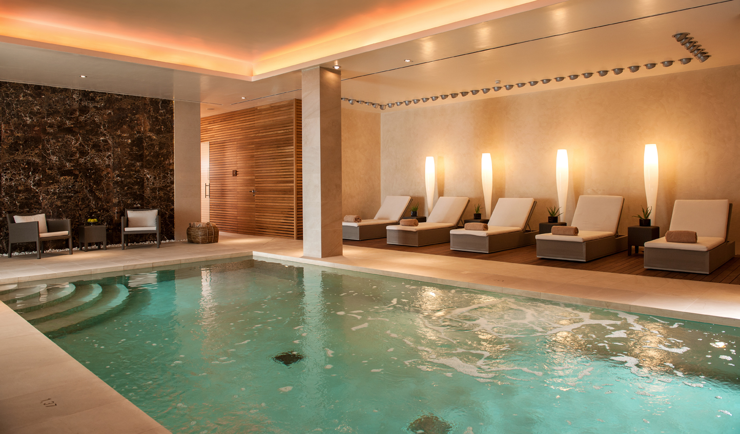 Take a dip in the pool after your spa treatment