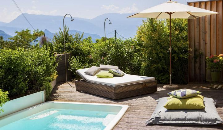 Gius Hotel private pool