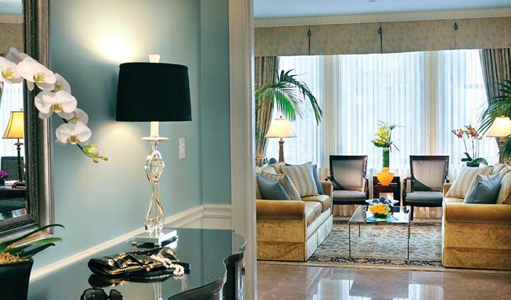 Luxurious suites await you