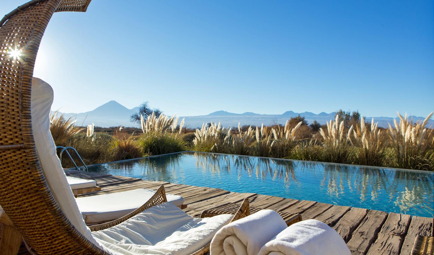 Kick back at Tierra Atacama and soak in the endless views