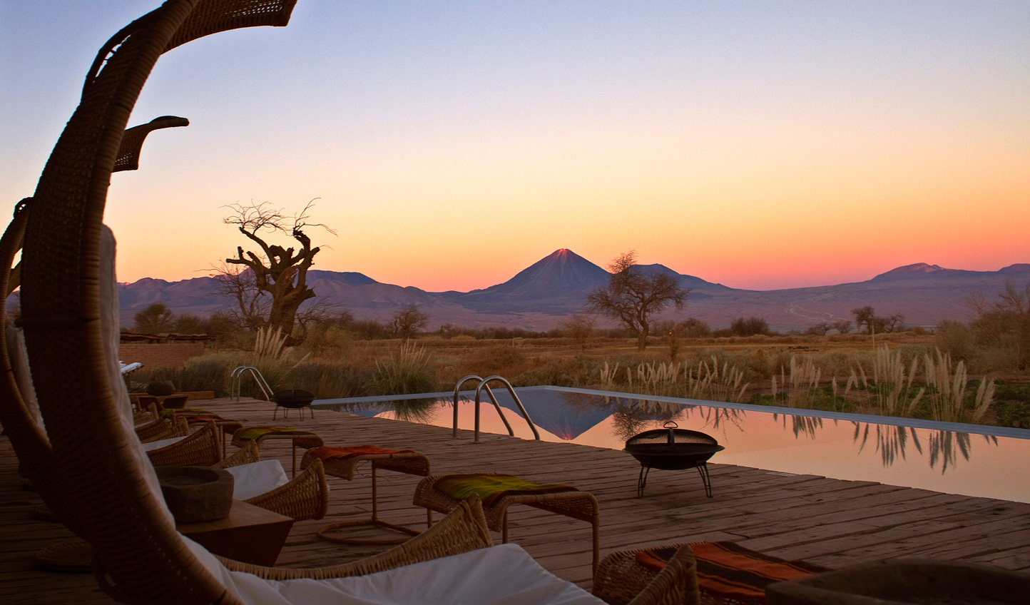 The perfect spot for your evening sundowners