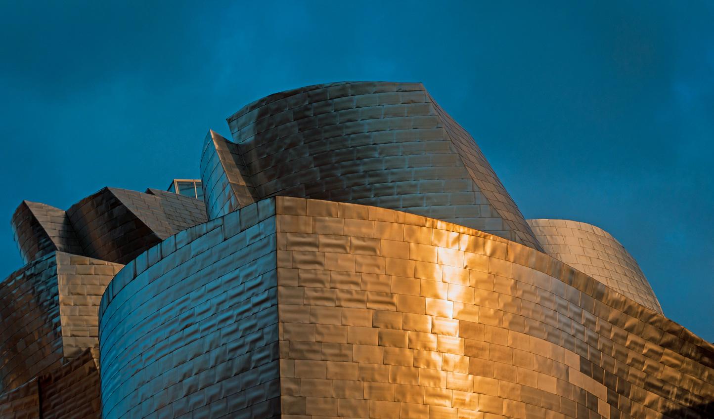 The iconic Guggenheim Museum