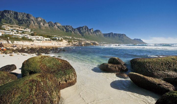 Relax on Camps Bay beach