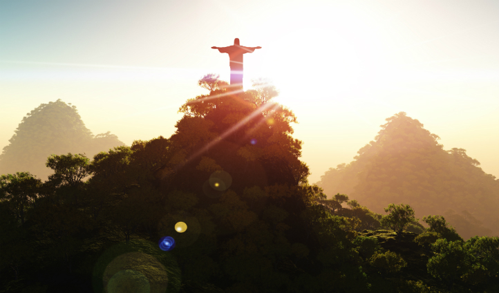 Witness the biblical beauty of Christ the Redeemer