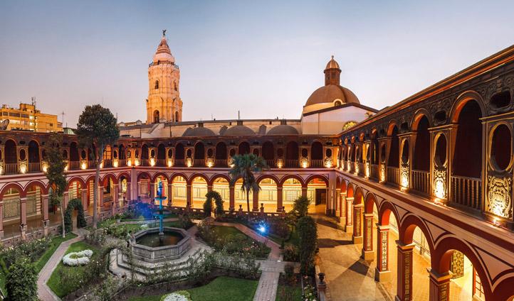 Explore the monastries Lima