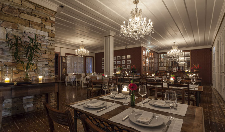 Dine in style at your Brazilian retreat