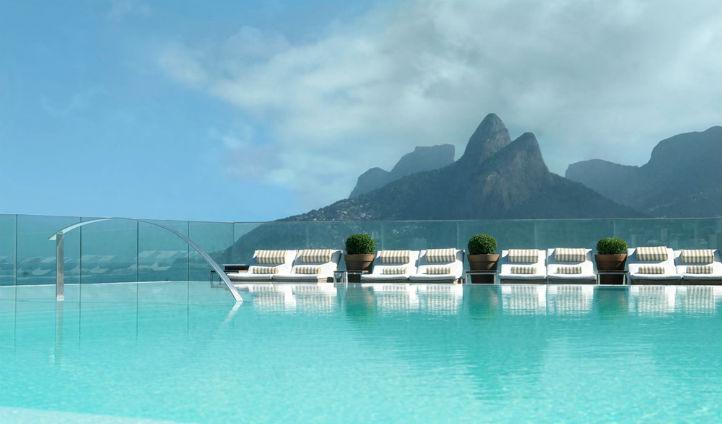 Bathe in the Fasano's idyllic pool