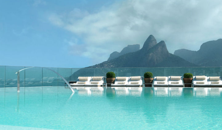 Relax in the Fasano's idyllic pool