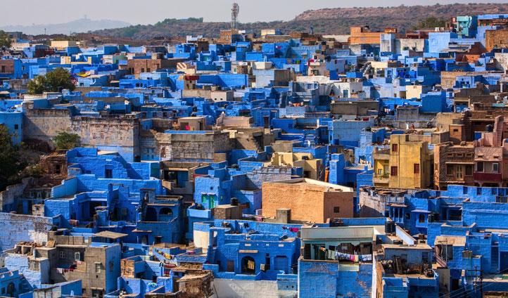The vibrant Blue City of Jodhpur