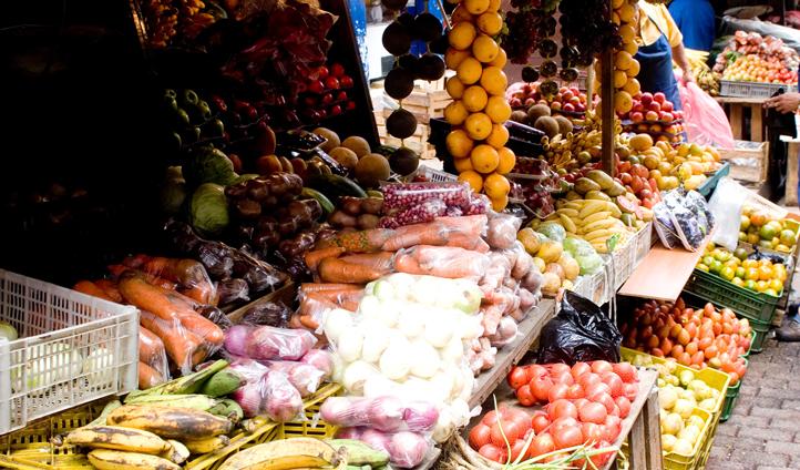 Colombian market, Medellin