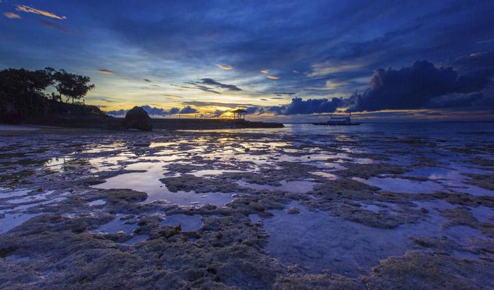 Dawn at Plantation Bay Resort, Mactan Island the Philippines