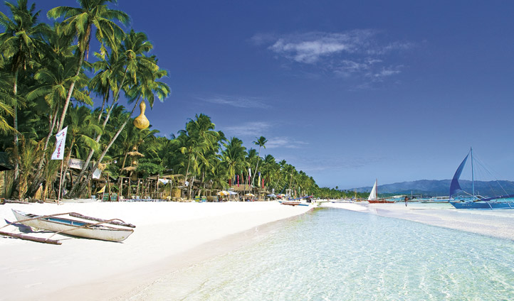 White Beach, Boracay, the Philippines