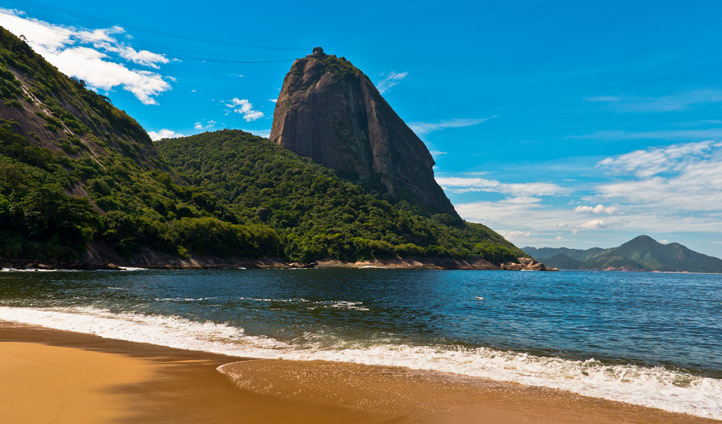 Stroll down those famous Rio beaches
