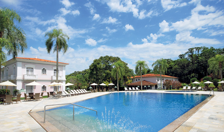 Take a dip at Hotel das Cataratas