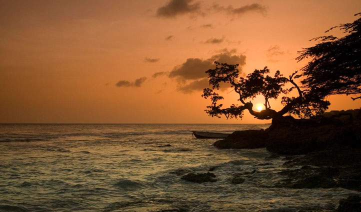 Treasure Beach sunset, Jamaica