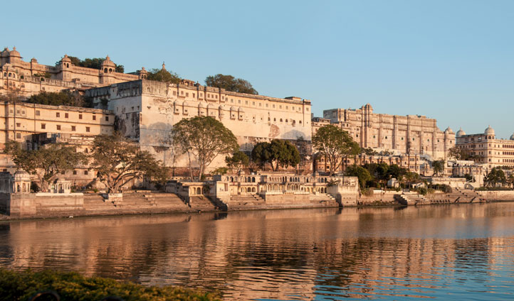 The breathtaking City Palace in Udaipur