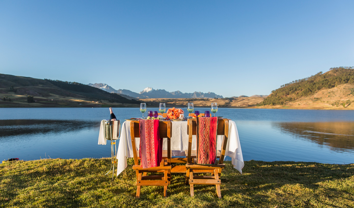 Embrace pachamama, or Mother Earth, and enjoy a picnic in the great outdoors