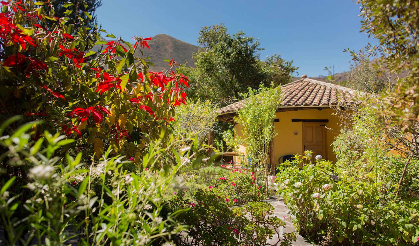 Retreat to your casita, ensconced in the gardens