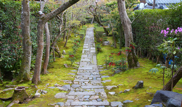 Precious hideaways can be found throughout Kyoto
