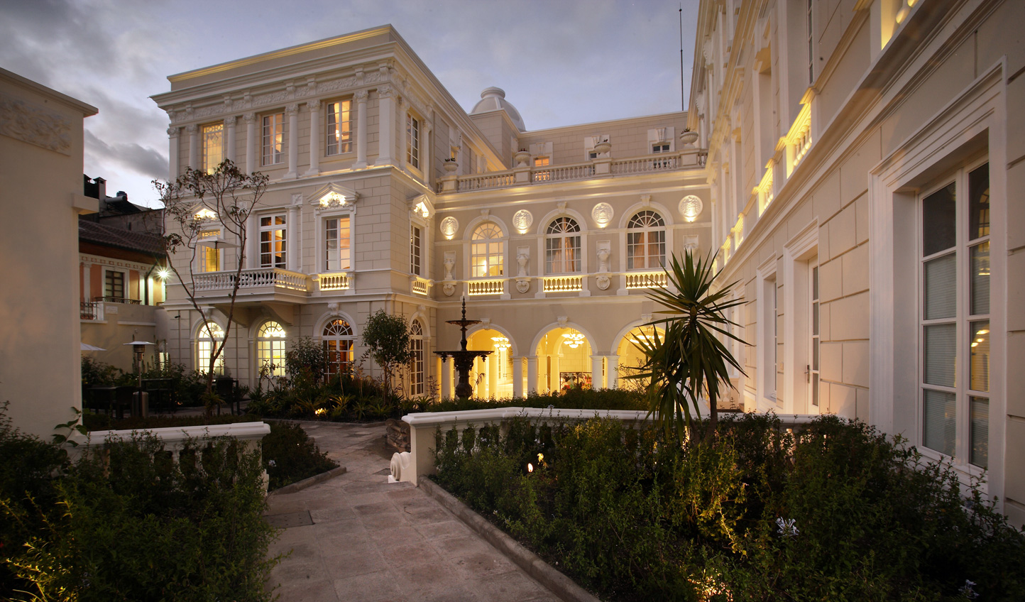 Stay at the majestic Casa Gangotena in Quito