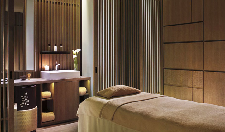 Relax in a luxury spa