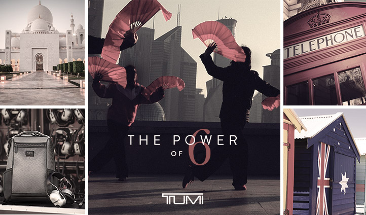 Tumi: The power of 6 | Black Tomato