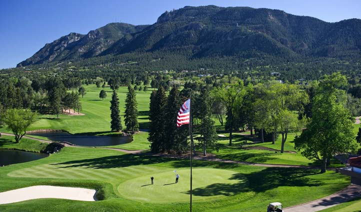 The Broadmoor golf course