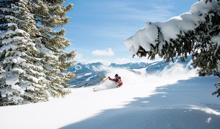Skier in Colorado