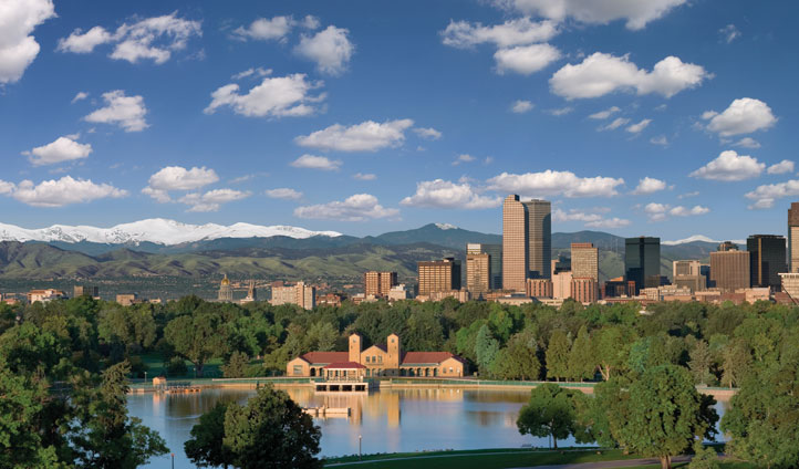 View across Denver