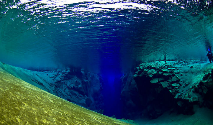 Dive between two continents at the Silfra Fissure