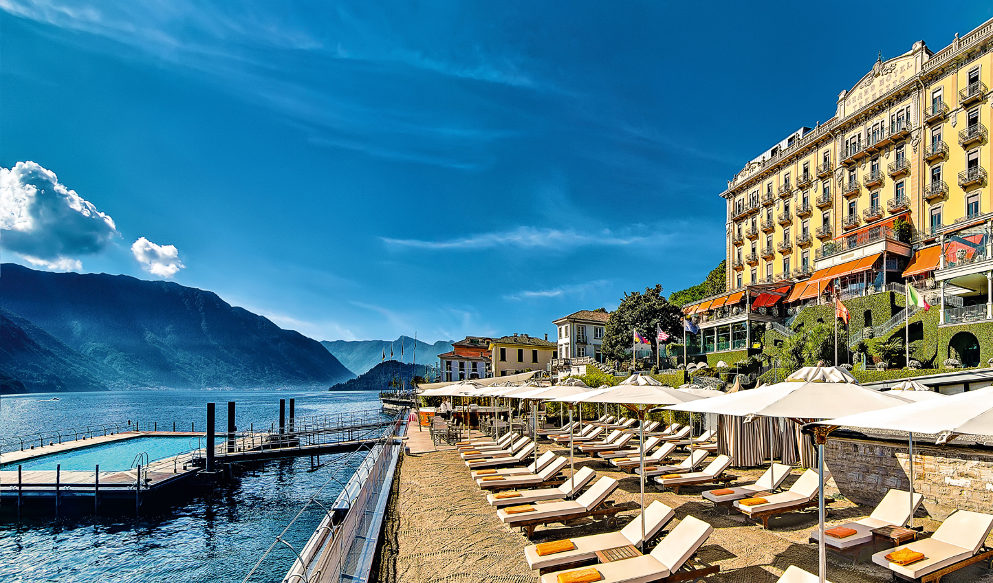 An elegant lakefront address at Grand Hotel Tremezzo