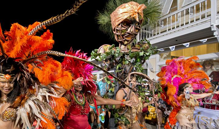 The Fantasy Festival Parade, The Florida Keys, USA
