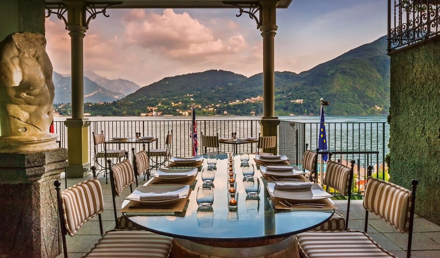 Dinner with a view at L'Escale Trattoria