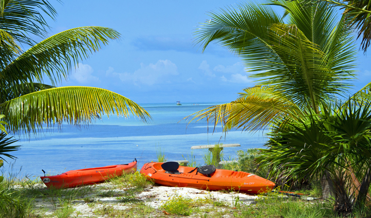 Kayak the waters of The Florida Keys, USA