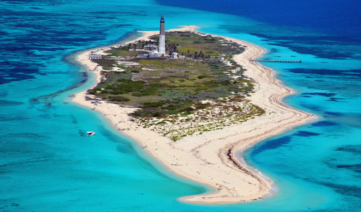 One of the Florida Keys Islands, USA