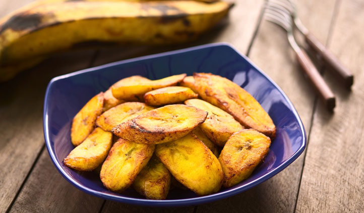 Plantain chips are a staple snack in Nicaragua