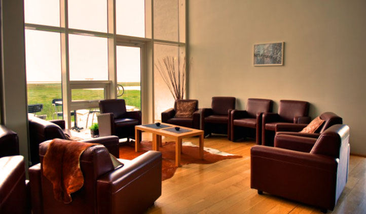Relax and unwind in the hotel's lounge