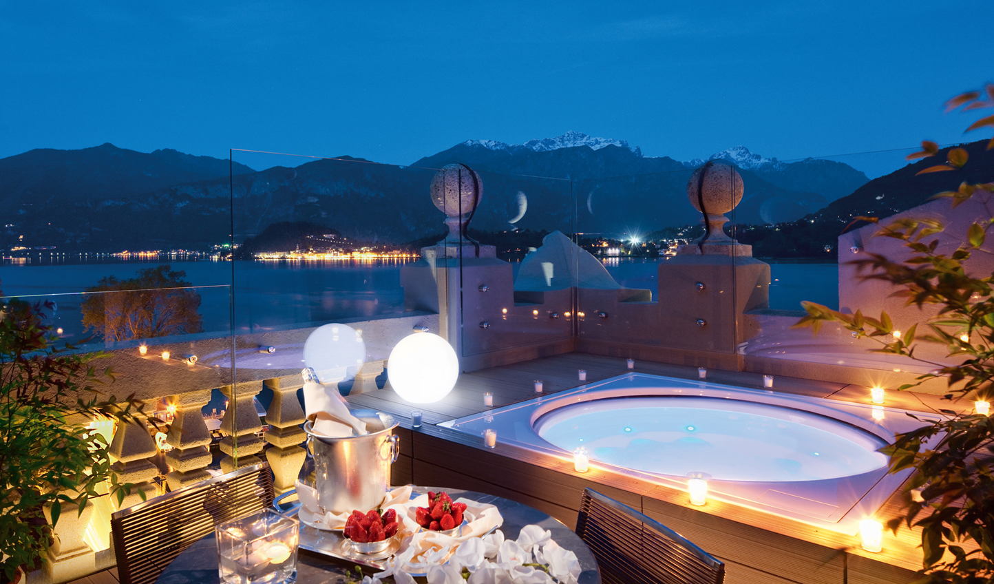 For a special occasion, you can't beat the Rooftop Corner Suite with its private plunge pool