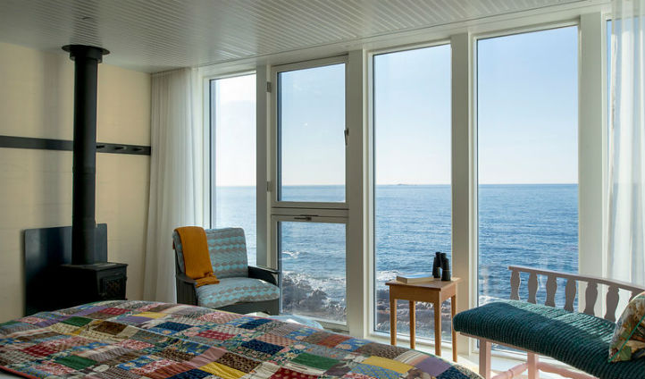 Spectacular views from the rooms - Photo © Alex Fradkin