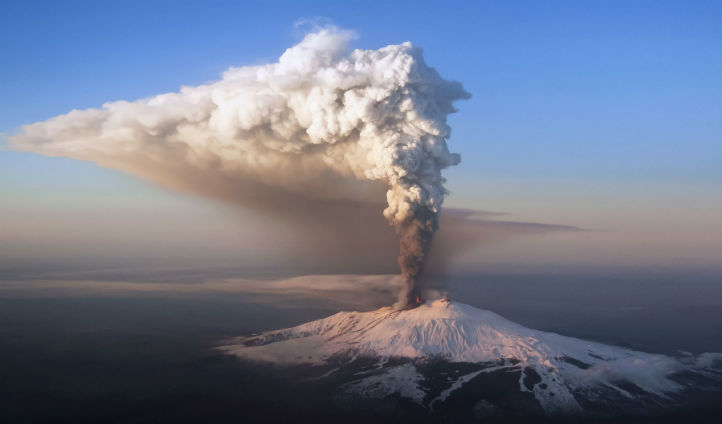 Take a trip to an active volcano